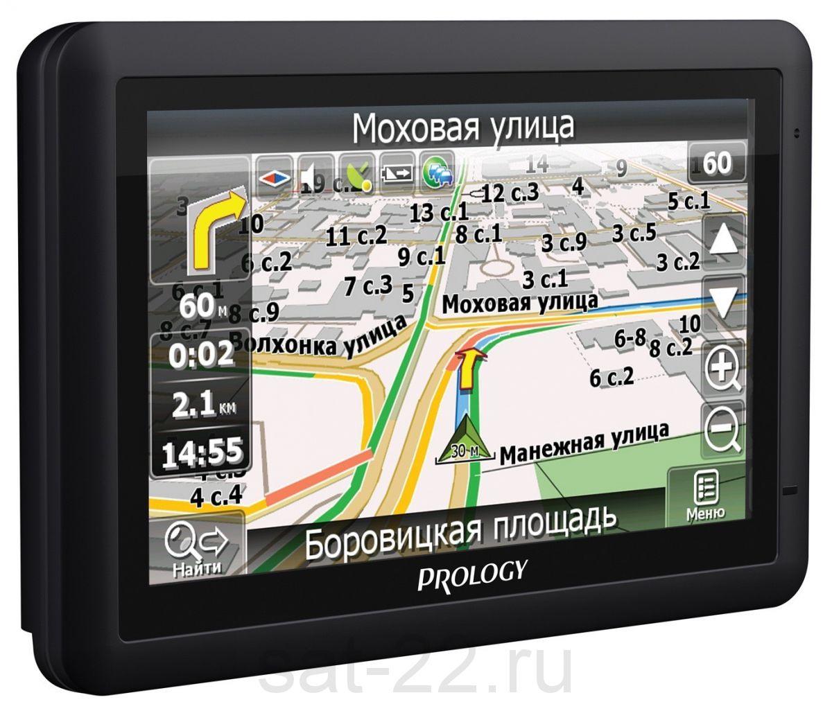 Портативная навигационная система PROLOGY iMap-552AG+