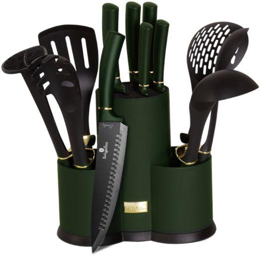 BH-6250 Набор ножей и кухонных аксессуаров на подставке 12 пр.