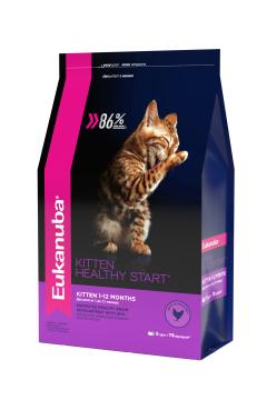 Eukanuba Kitten для котят, беременных, кормящих кошек