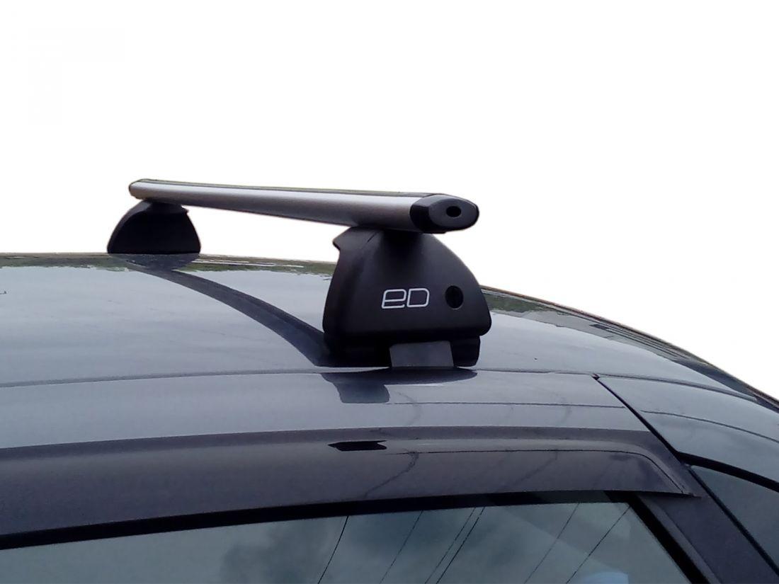Багажник на крышу Lada Granta, Евродеталь, аэродинамические дуги
