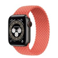 Часы Apple Watch Edition Series 6 GPS + Cellular 40mm Space Black Titanium Case with Electric Orange Braided Solo Loop