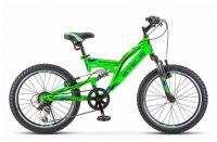 """Велосипед Stels Mustang 20' V V010 13"""" Зелёный (LU088354 LU092147)"""
