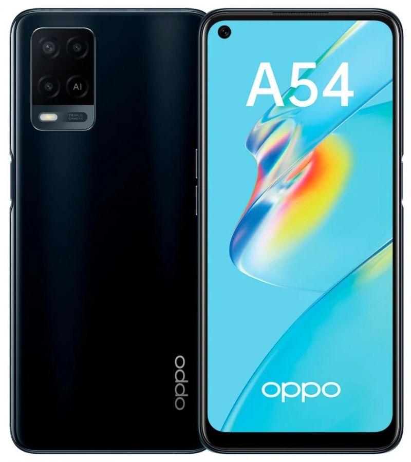 Смартфон OPPO A54 4/64GB Чёрный