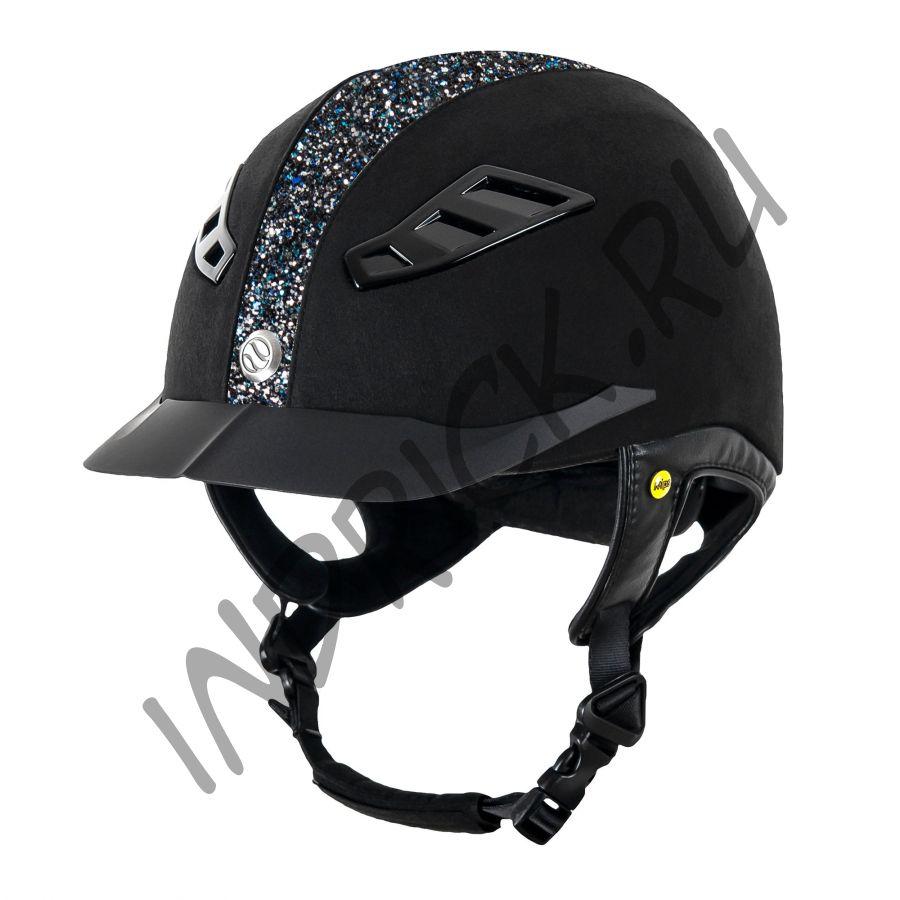 Шлем для верховой езды EQ3 Lynx Microcoup Синий Бриллиант