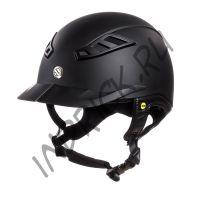 Шлем для верховой езды EQ3 Lynx Черный Топ