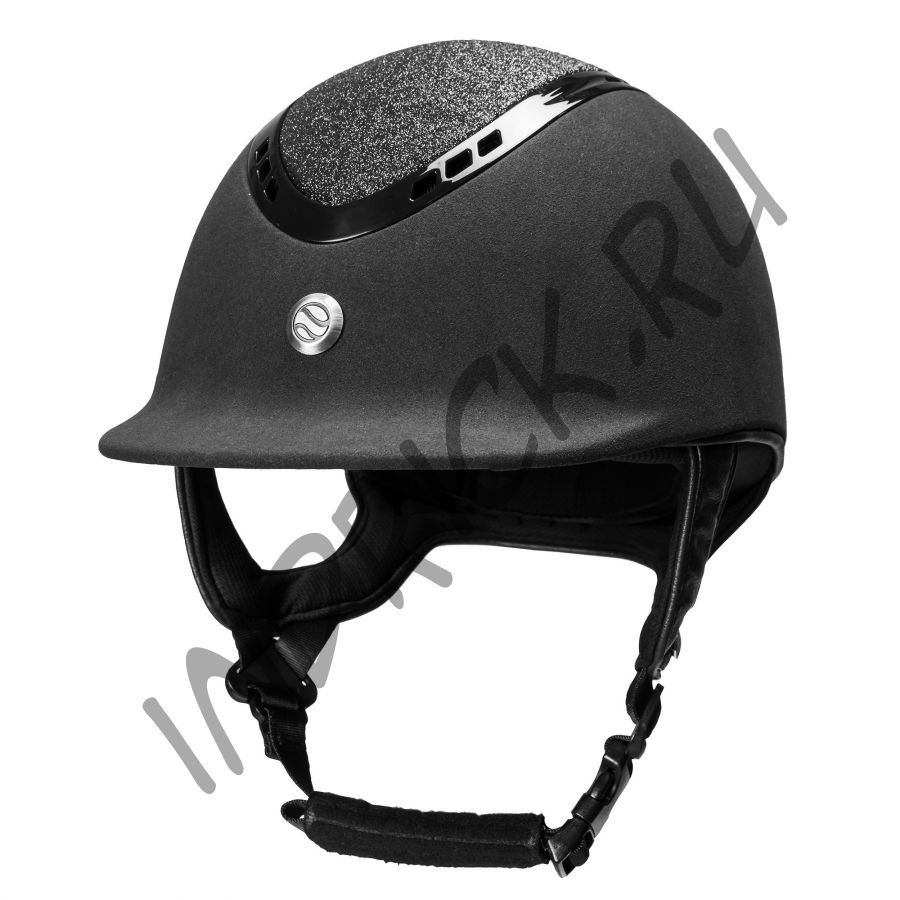 Шлем для верховой езды EQ3 Pardus Micromocca Черный Песок