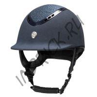Шлем для верховой езды EQ3 Pardus Micromocca Синий Песок