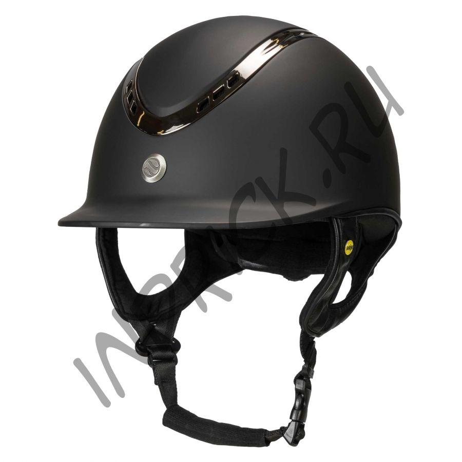 Шлем для верховой езды EQ3 Pardus Черный Топ