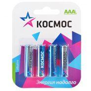 батарейка КОСМОС LR03 BL4 CLASSIC, 4/96/384