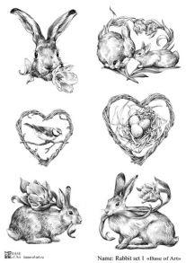 Rabbit set 1