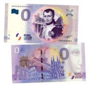 0 ЕВРО - Наполеон Бонапарт(Napoleon Bonaparte). Памятная банкнота