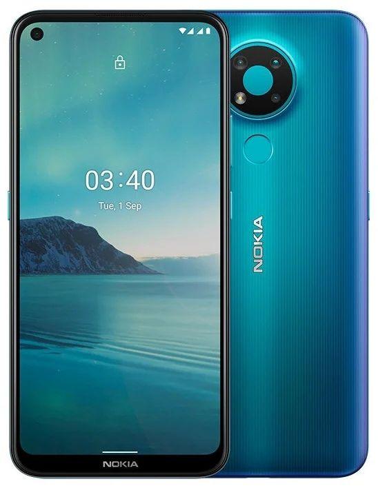 Смартфон Nokia 3.4 3/64GB Dual sim Синий