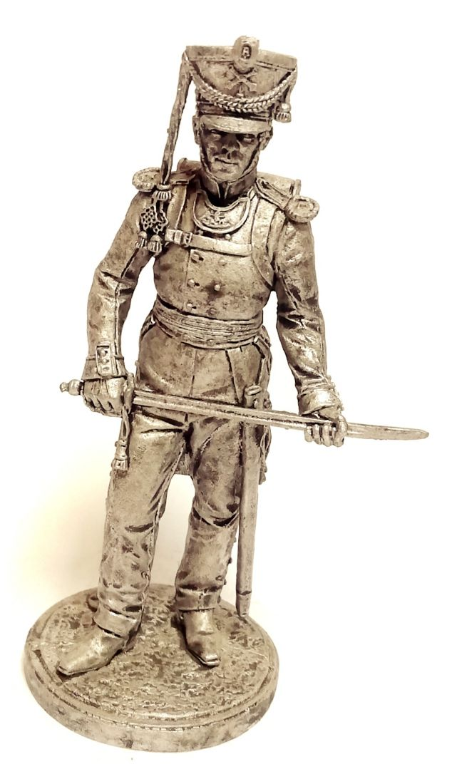 Фигурка Обер-офицер армейской пешей артиллерии. Россия, 1809-14 гг. олово