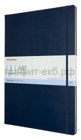 Книжка зап.Moleskine А3 ART SKETCHBOOK синий сапфир 96стр. ARTBF851B20