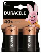 батарейка Duracell  LR20, 2/20