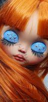 Кукла блайз с закрытыми глазами @oksana.blythe