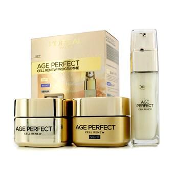 Набор кремов L'Oreal Age Perfect Cell Renew Programme 3в1