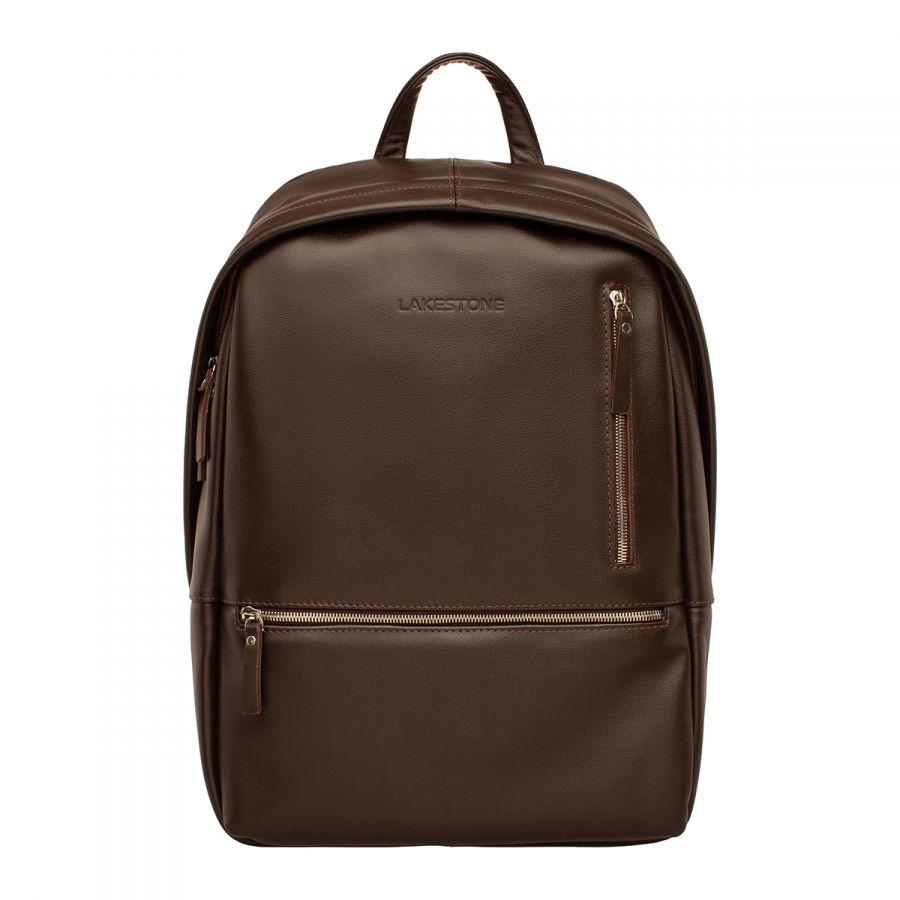 Кожаный рюкзак LAKESTONE Adams Brown