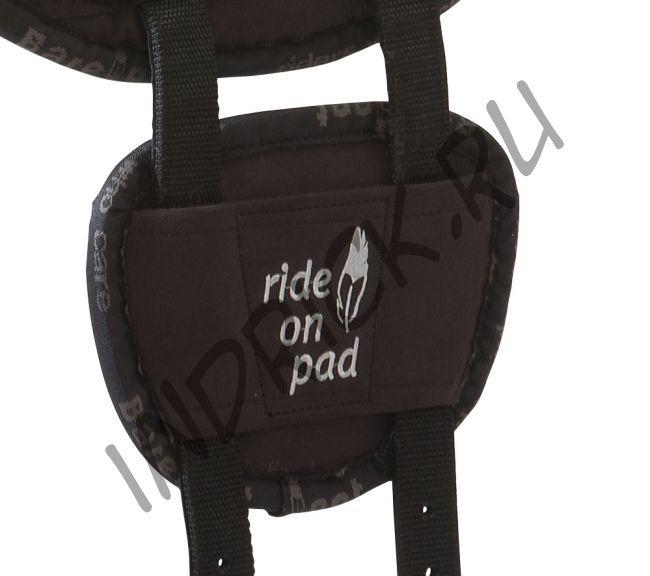 Накладка на приструги для падов для езды без седла