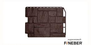 Туф 0.41м2 3D-Facture ( Дымчатый, светло-бежевый, светло-серый, темно-коричневый) 795*595мм