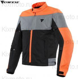 Куртка Dainese Elettrica Air Tex, Черно-оранжевая