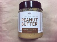 Натуральная арахисовая паста кранч, ORTYM, 400 грамм, пластик