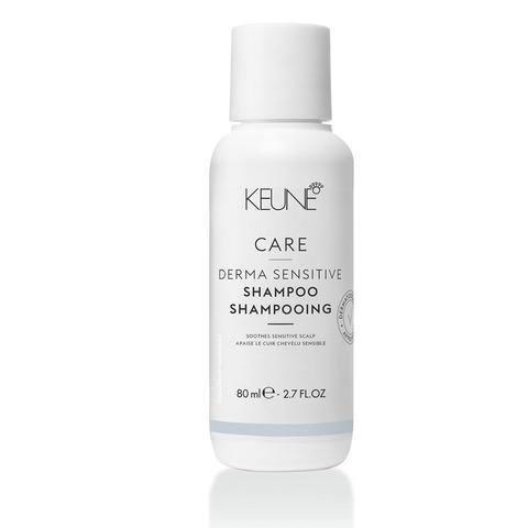 Keune Шампунь для чувствительной кожи головы/ Care Derma Sensitive Shampoo, 80 мл.