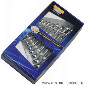 Набор комбинированных гаечных ключей HEYCO 12 шт (8, 9, 10, 11, 12, 13, 14, 15, 16, 17, 18, 19 мм) 50810827180
