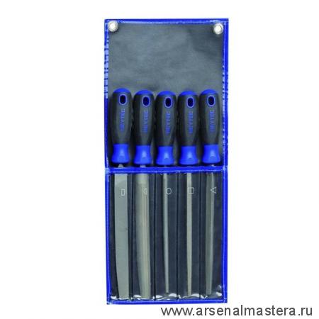 Набор напильников  с двойной насечкой в сумке-скрутке  (5 шт.) HEYCO HE-50816800500