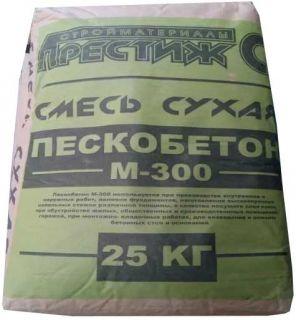 Пескобетон М-300 25кг Престиж