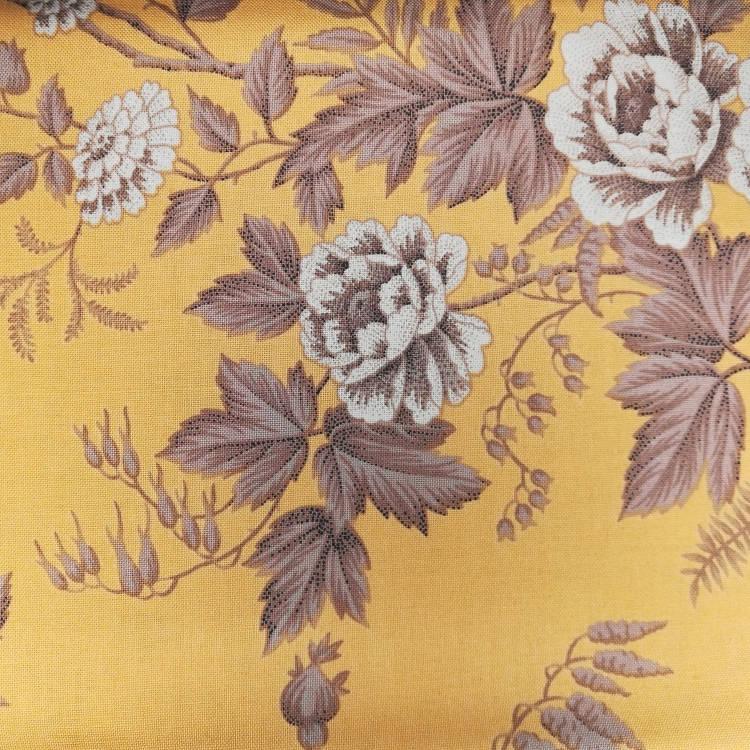 Ткань Belle Fleur (Красивые цветы) Classic Cottons США  отрез 50 см х 55 см (3797-60115-4)
