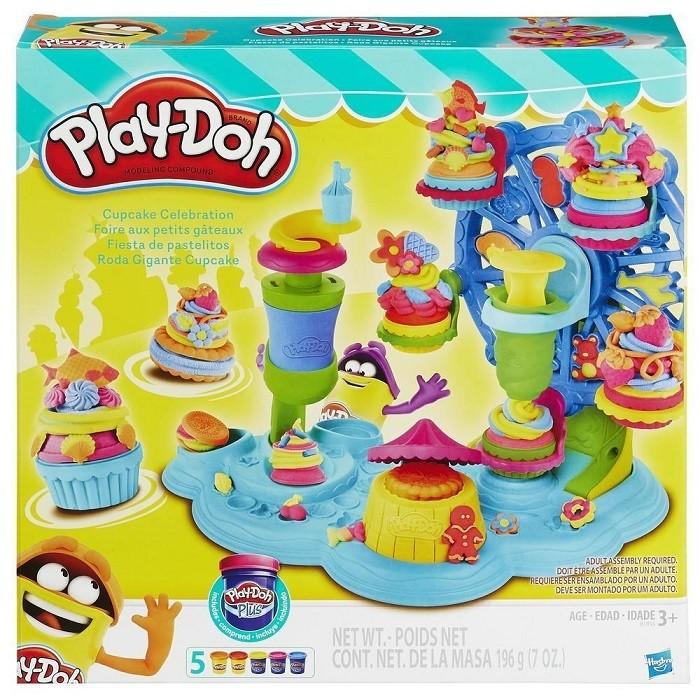 Набор для лепки из пластилина Play-Doh Карнавал Сладостей (71050)
