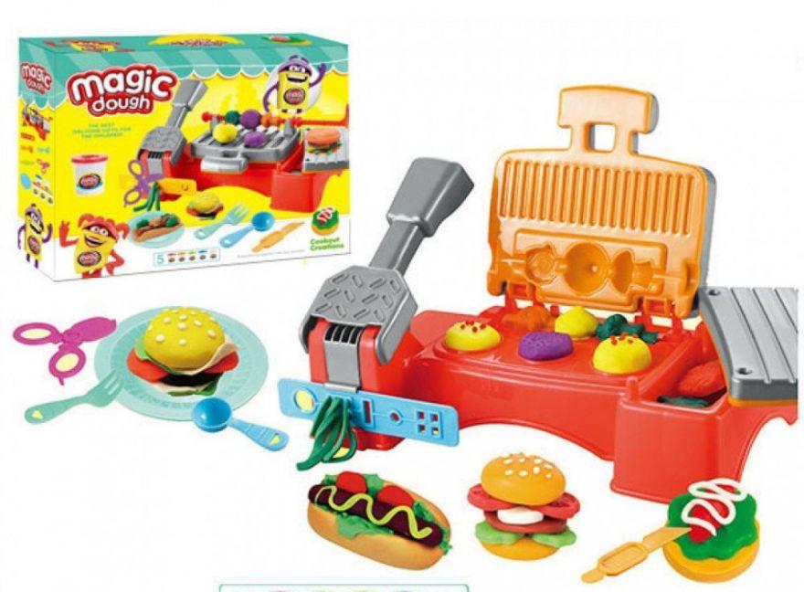 Набор для лепки из пластилина Play-Doh Бургер-Гриль (7899)