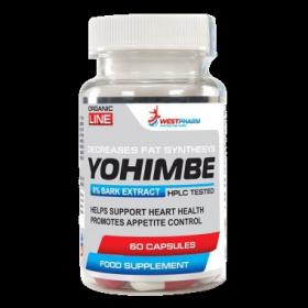 WestPharm Yohimbe Extract 50 mg 60 caps