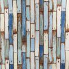 фото Ткань Coastal Painted Planks MAKOWER UK Великобритания 1161