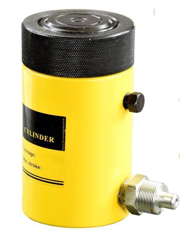 Домкрат гидравлический TOR HHYG-5050LS (ДГ50П50Г),  50т с фиксирующей гайкой