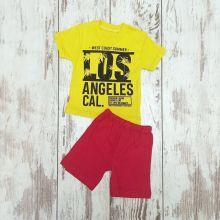 Костюм Los Angeles желтый 02240-8