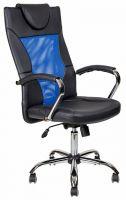 Компьютерное кресло АЛВЕСТ AV 134 СН (04) MK Чёрноесинее