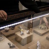 Мебельная ручка PullCast Tiffany marble CM3004 витрина 1