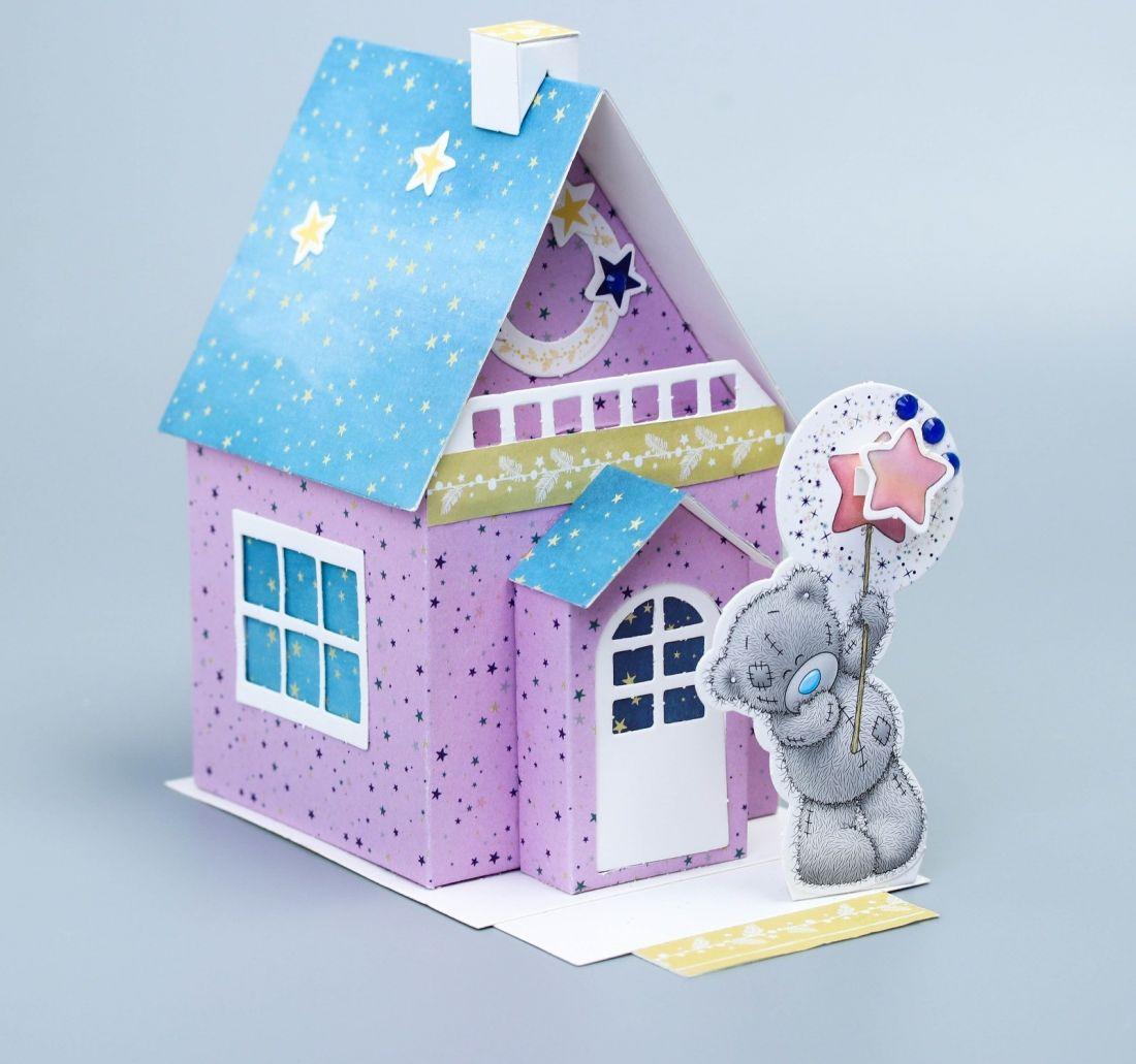 Поделка Домик для мишки