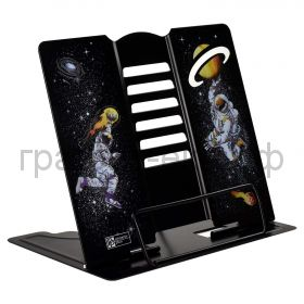 Подставка для книг Феникс+ Космонавты 6 углов наклона металл/УФ-печать 54109