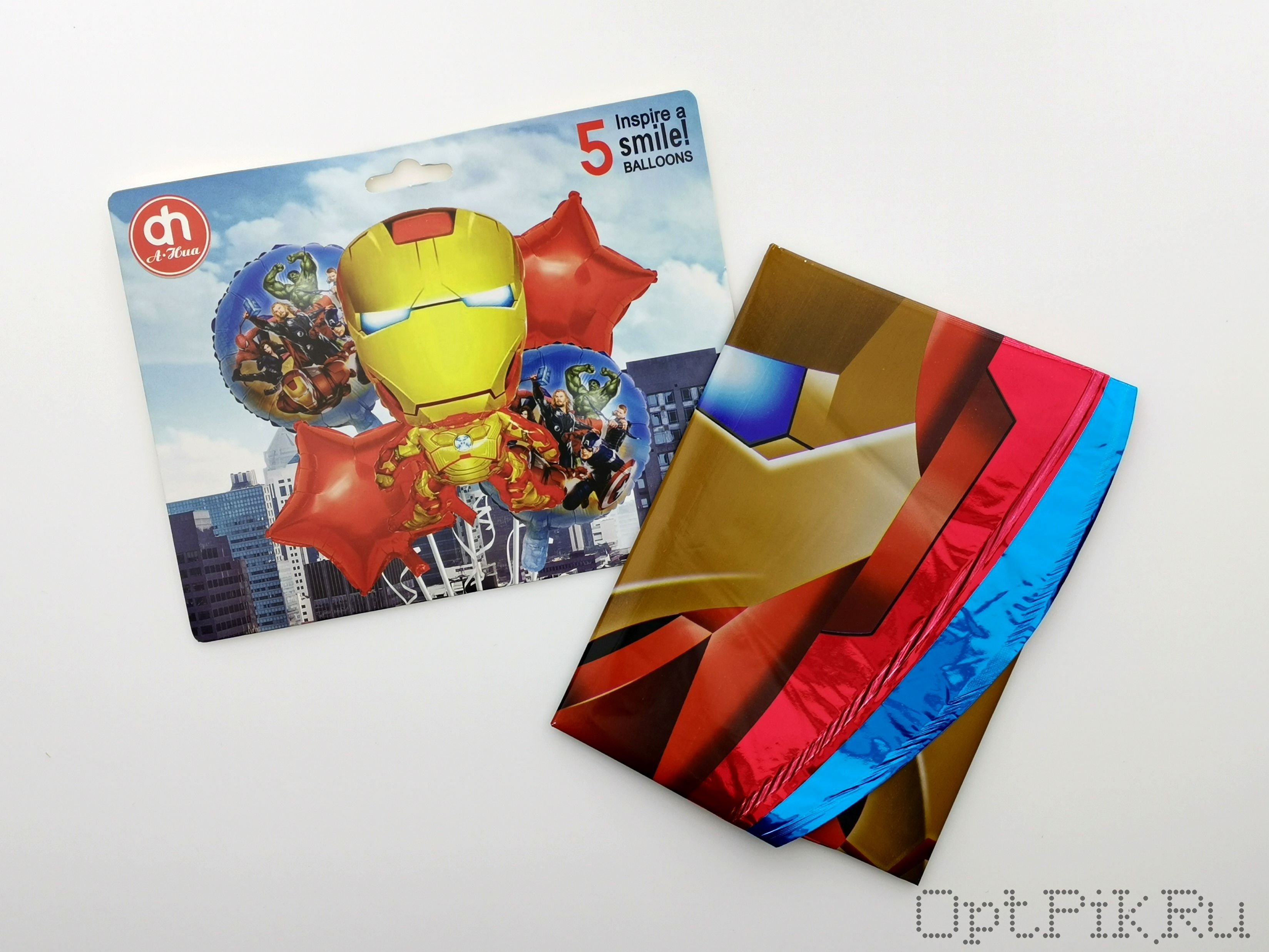"""Набор фольгированных шаров """"Мстители"""""""