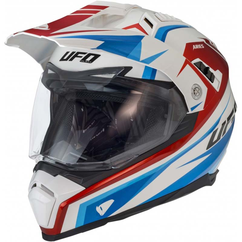 UFO Aries Helmet White шлем универсальный, белый