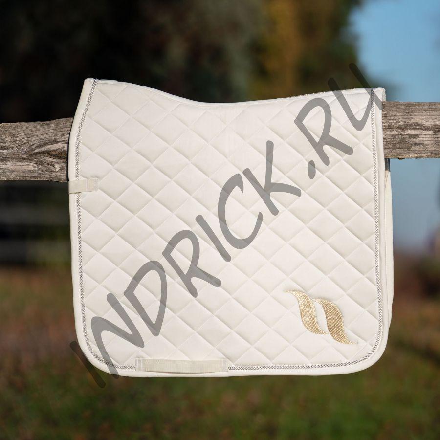 Выездковый вальтрап с вышитым лого Back on Track Limited белый