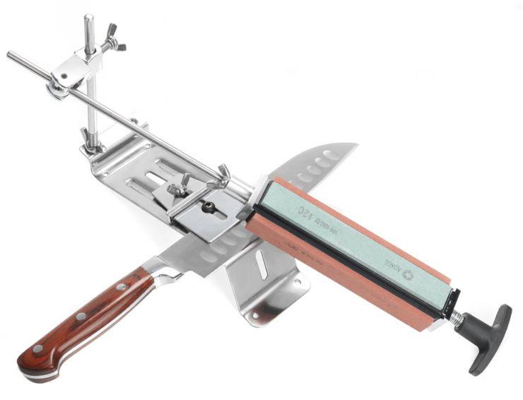 Точильный станок RPro ks04 металл 4 камня 120#, 320#, 600#, 1500# для ножей
