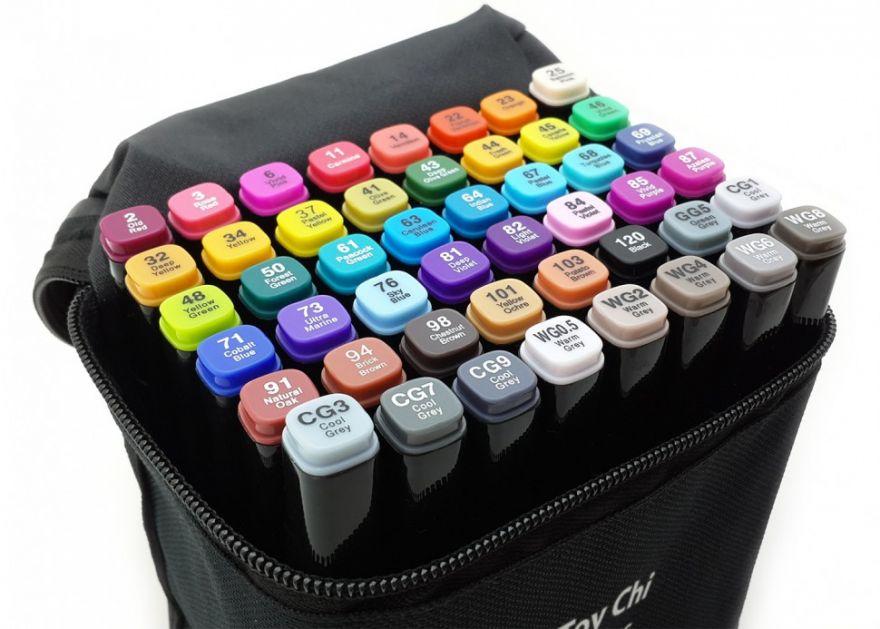 Маркеры для скетчинга Touch 48 цвета