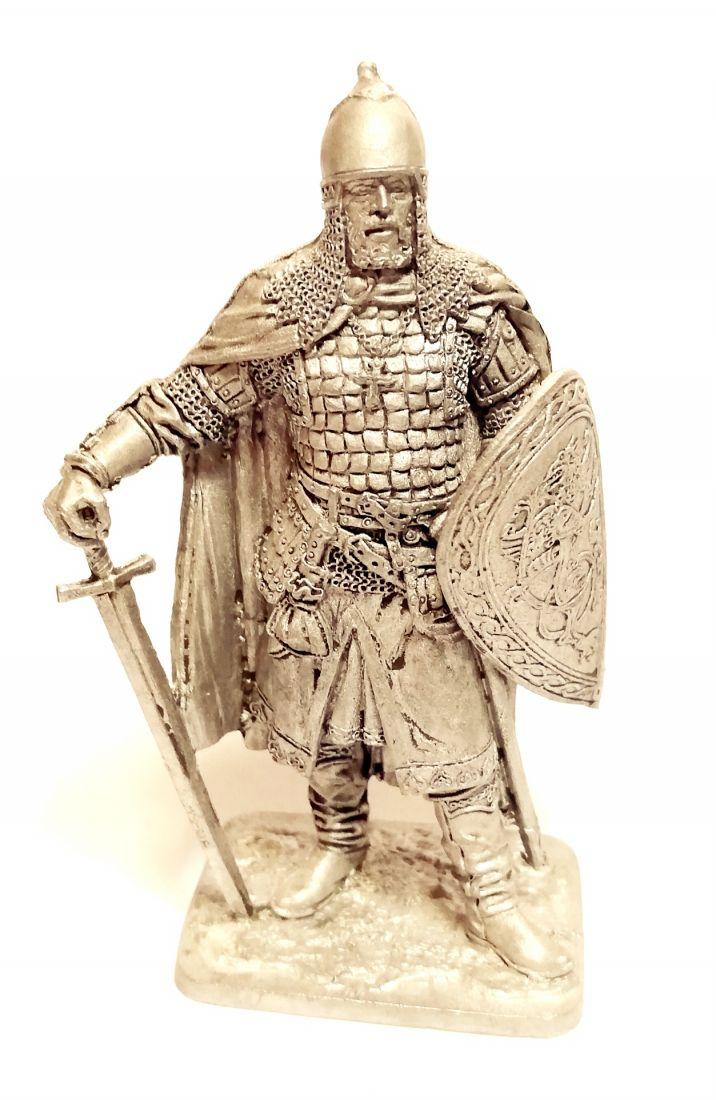 Фигурка Новгородский боярин Гаврила Олексич,  1240-е гг.  олово