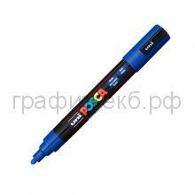 Маркер декоративный UNI POSKA 1,8-2,5мм синий цвет33 PC-5M