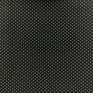 фото Ткань В крапинку Classic Cottons США  отрез 50 см х 55 см черный 3807-20707