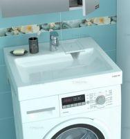 Раковина над стиральной машиной Санта Лидер 60х59 с кронштейнами